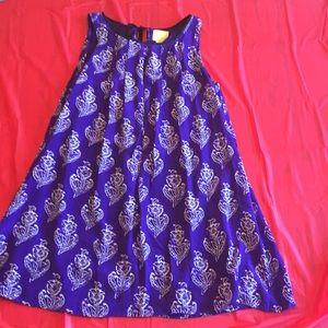 Anthropologie Maeve purple dress